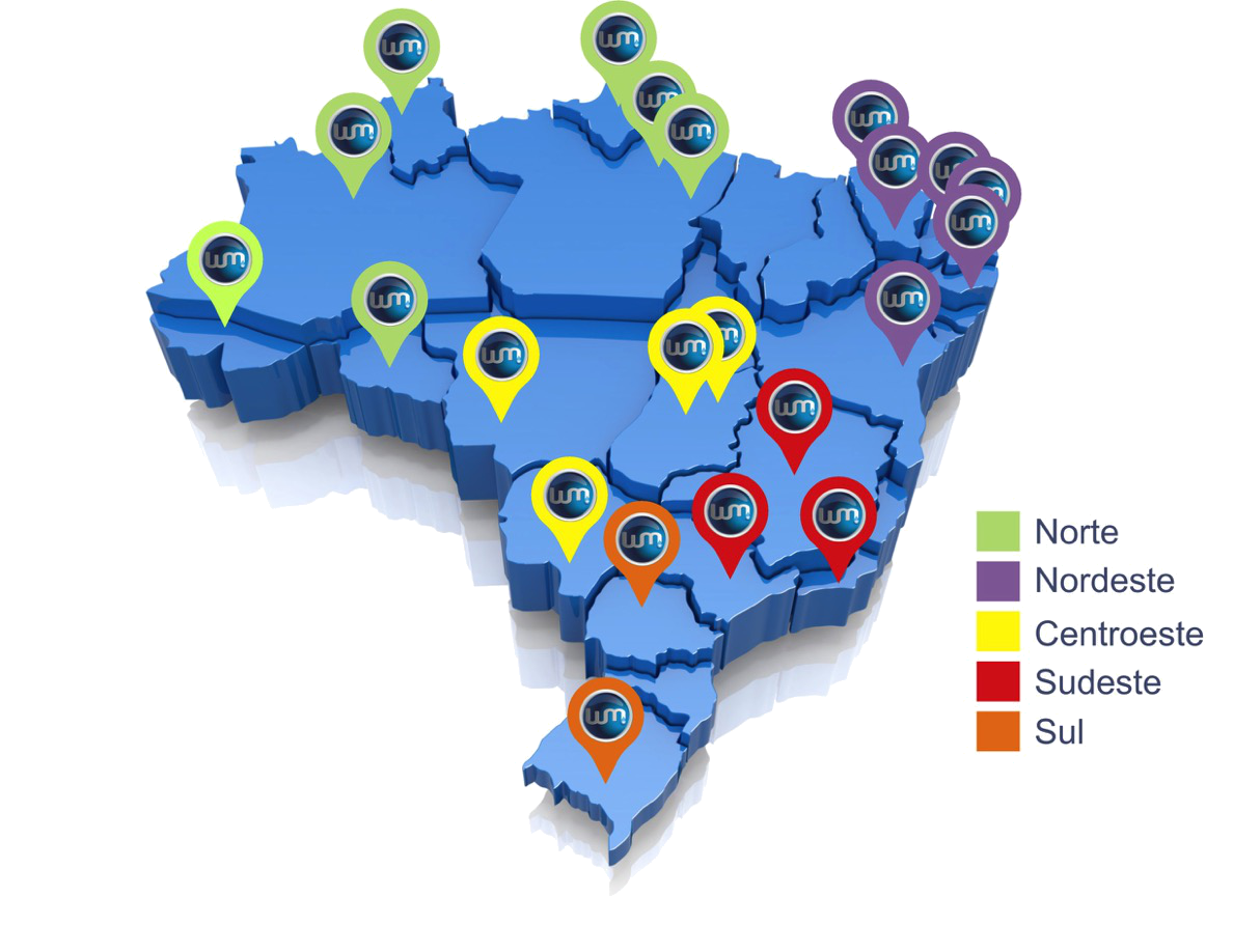 mapa fina
